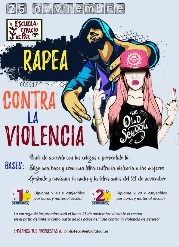 Rapea contra la violencia